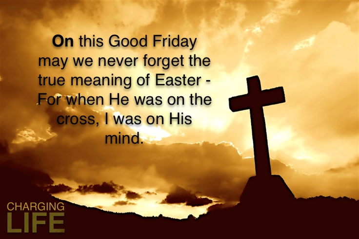 good friday best wishes